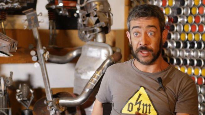 Verrückte Idee: Italiener bastelt coole Müll-Skulpturen