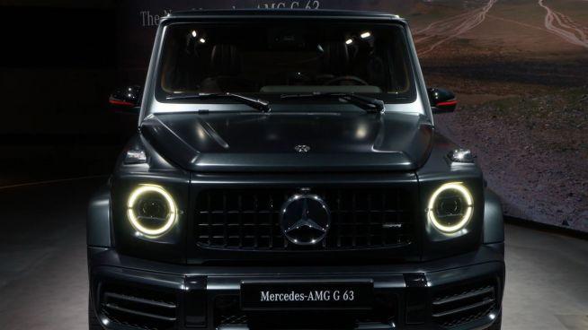 Luxus-Riese: Mercedes zeigt neue G-Klasse