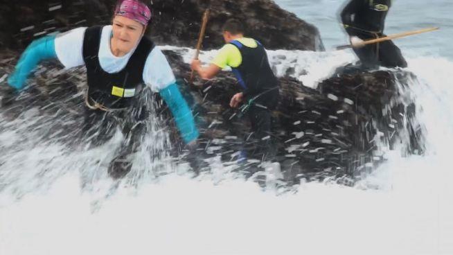 Tödliche Ernte: Entenmuschel-Sammler riskieren Leben