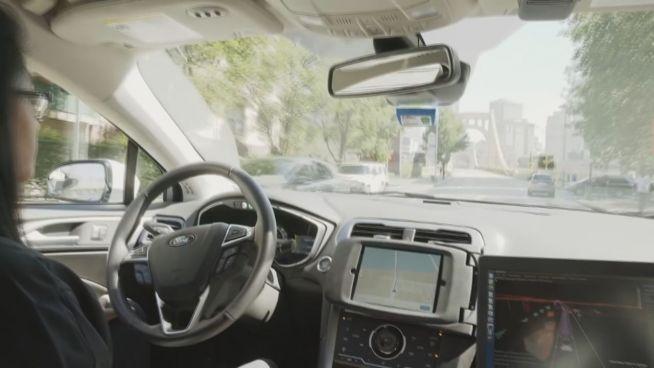 Allein im Taxi: Uber testet Selbstfahr-Autos