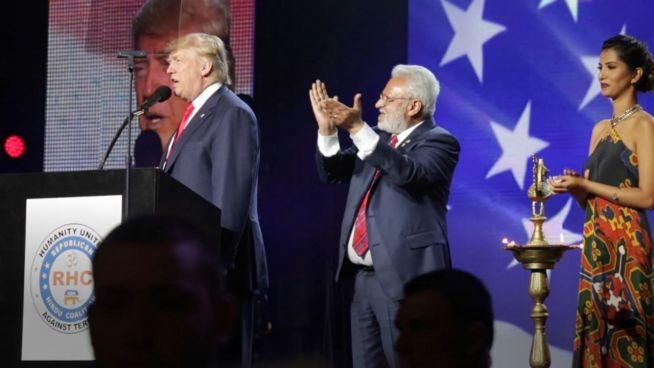 US-Minderheiten für Trump? Donald bei den Hindus