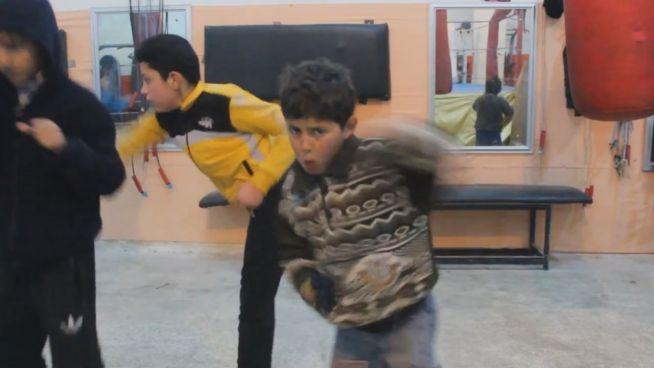 Boxring im Bürgerkrieg: Aleppos Kinder kämpfen im Gym
