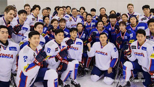 Neue Olympianation: Korea startet vereint
