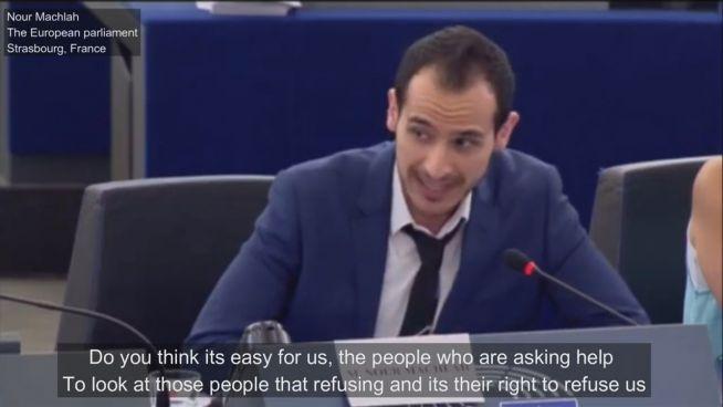 Bewegend: Syrischer Flüchtling spricht vor EU-Parlament