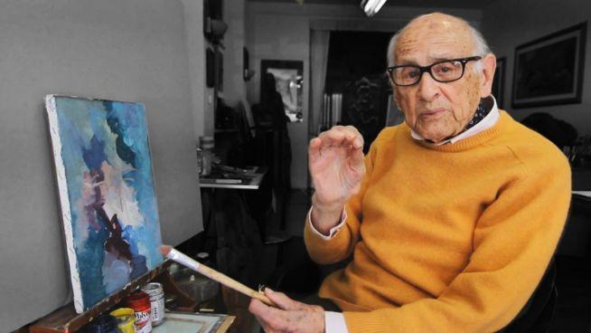 104 und Facebook-Star: Italiens kultigster Maler