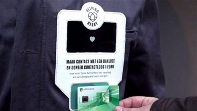 Kartenscan-Jacke: Revolution für Obdachlose?