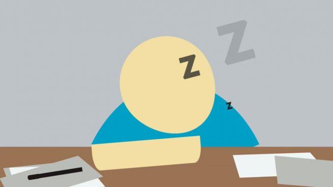 Müde und schlecht gelaunt: Wenig Schlaf macht betrunken